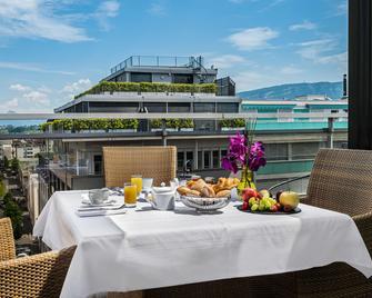 Hotel Royal - Женева - Спальня
