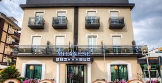 Hotel Milanese - Rimini - Building