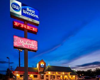 Best Western Newport Inn - Ньюпорт - Building