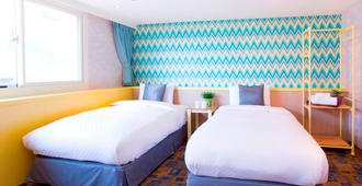 Click Hotel - Ximending Branch - טאיפיי - חדר שינה
