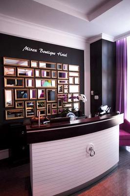 Mirax Boutique Hotel - Kharkiv - Front desk