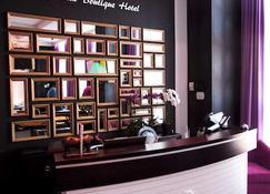 Mirax Boutique Hotel - Charków - Recepcja