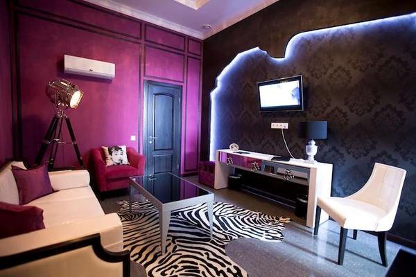 Mirax Boutique Hotel - Kharkiv - Living room