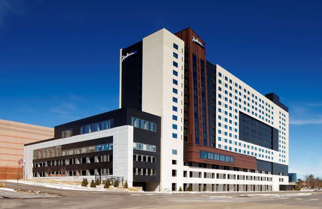 美洲購物中心麗笙酒店 - 布隆明頓 - 布盧明頓 - 建築