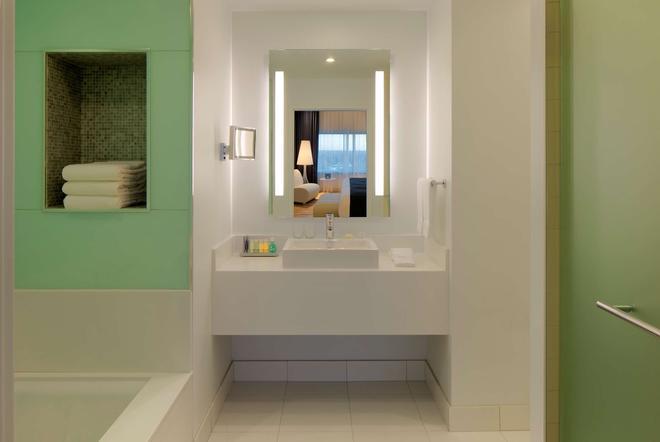美洲購物中心麗笙酒店 - 布隆明頓 - 布盧明頓 - 浴室
