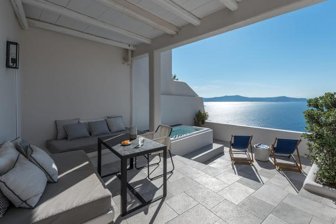 Porto Fira Suites - Thera - Ban công