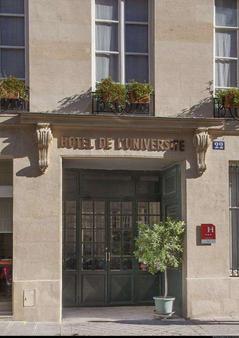 Hotel De L'universite - Pariisi - Rakennus