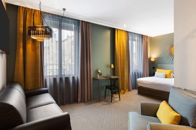 Best Western Plus Hotel de Dieppe 1880 - Rouen - Makuuhuone