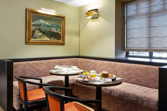 Best Western Plus Hotel de Dieppe 1880 - Rouen - Ravintola