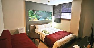 Hiroshima Intelligent Hotel Main & New Building - Hiroshima - Bedroom