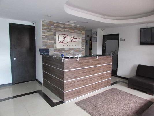 Hotel Americas Luxor - Bogotá - Front desk