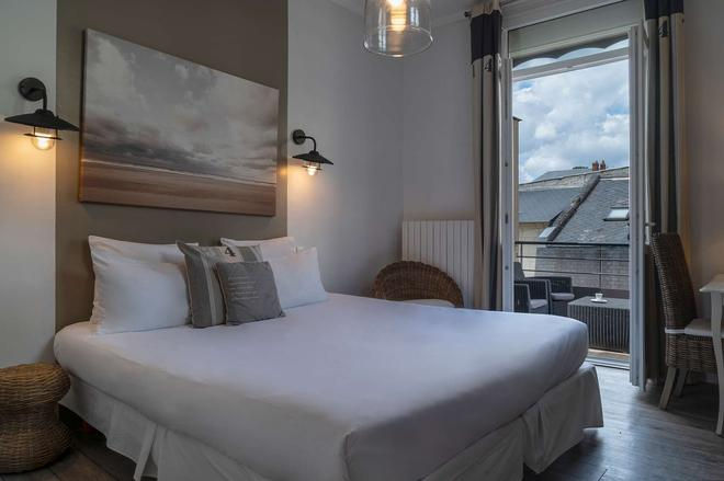 倫德里斯公寓酒店 - 索木爾 - 索米爾 - 臥室