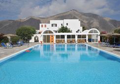 聖托里尼島酒店 - 聖托里尼 - 佩里沙 - 游泳池