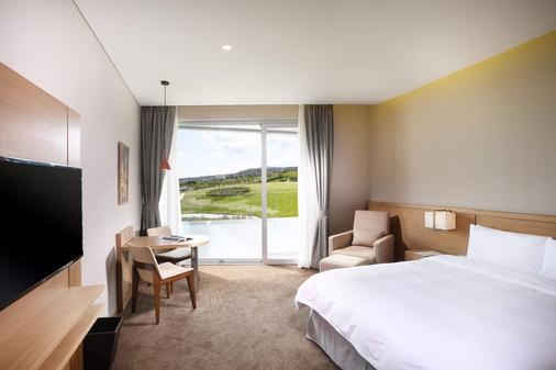 Hidden Cliff Hotel & Nature - Seogwipo - Bedroom