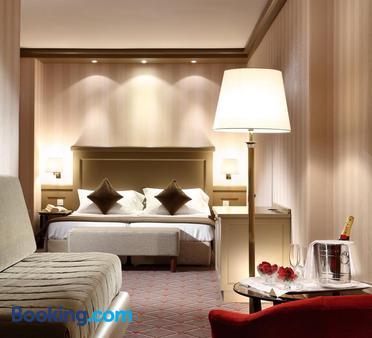 Hotel De La Paix - Λουγκάνο - Κρεβατοκάμαρα