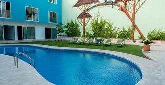 Hotel Playa Encantada - Плая-дель-Кармен - Бассейн