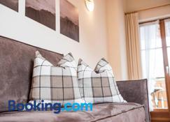 Apartment Lodge Gasserhof - 布列瑟農 - 臥室