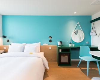 Hotel Yeogiuhtte Gyeongpo - Gangneung - Camera da letto