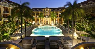聖塔克拉拉卡塔赫納索菲特傳奇酒店 - 喀他基那 - 卡塔赫納 - 游泳池