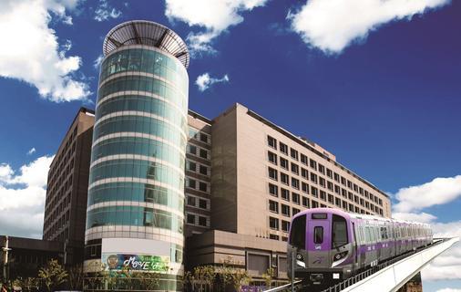 Fullon Hotel Taoyuan Airport Access Mrt A8 - Taoyuan - Toà nhà