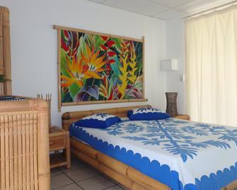 Pension De La Plage - Punaauia - Bedroom
