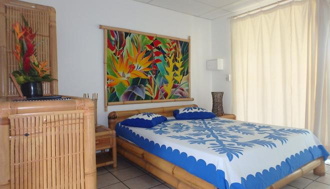 Pension De La Plage - Punaauia - Bedroom