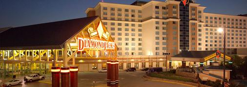 Diamondjacks Casino & Hotel - Bossier City - Toà nhà