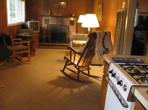 Ponderosa Lodge - Estes Park - Living room