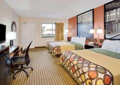 Super 8 by Wyndham Orlando International Drive - Orlando - Bedroom
