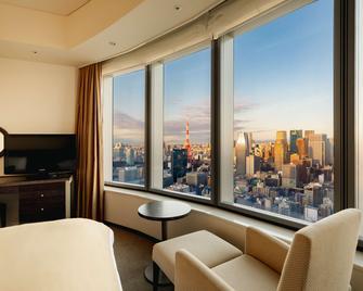 Park Hotel Tokyo - Tokio - Schlafzimmer