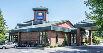 Comfort Inn & Suites - Spokane - Edificio