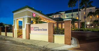 Hilton Garden Inn Tampa Ybor Historic District - Tampa - Edificio