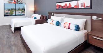 Aloft San Jose Cupertino - San Jose - Bedroom
