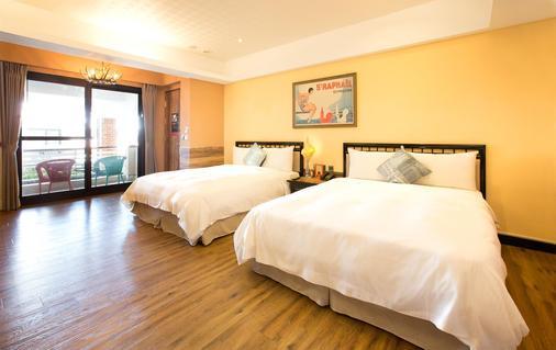 Hotelday+ Kenting - Hengchun - Phòng ngủ
