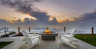 The Coho Oceanfront Lodge - לינקולן סיטי - פטיו