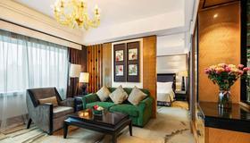 成都皇冠假日酒店 - 成都 - 客廳
