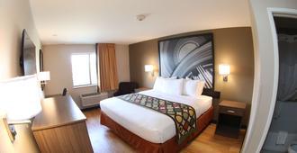 Super 8 by Wyndham Portsmouth - Portsmouth - Bedroom
