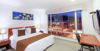 122 Plaza Apartahotel - Bogotá - Bedroom