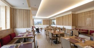 Hotel Sonne St. Moritz - São Moritz - Restaurante