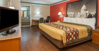 Super 8 Little Rock / Otter Creek - Little Rock - Bedroom