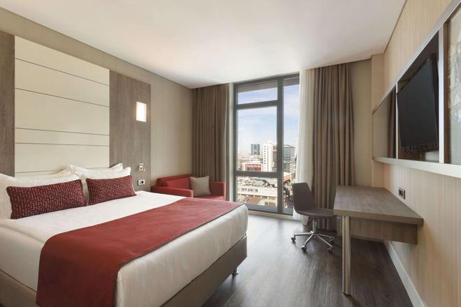 伊斯坦布爾百瑞巴沙華美達安可酒店 - 伊斯坦堡 - 伊斯坦堡 - 臥室
