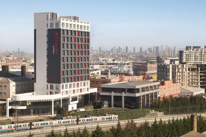 伊斯坦布爾百瑞巴沙華美達安可酒店 - 伊斯坦堡 - 伊斯坦堡 - 建築