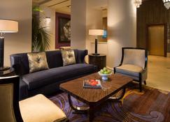 Hotel De Anza, a Destination by Hyatt Hotel - San Jose - Vardagsrum
