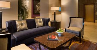 Hotel De Anza, a Destination by Hyatt Hotel - San Jose - Living room