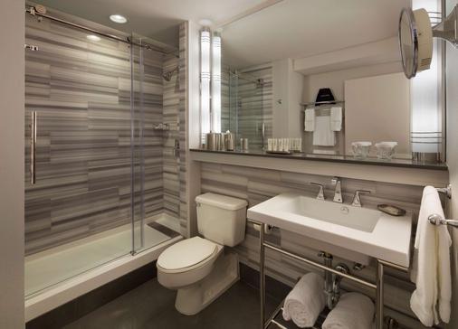 Hotel De Anza - San Jose - Bathroom