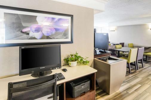 Quality Inn and Suites - North Charleston - Khu vực làm việc