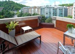 西爾肯阿瑪拉廣場酒店 - 聖賽巴斯提安 - 聖塞巴斯蒂安 - 陽台