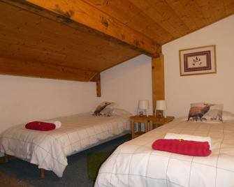 Central Hostel Chatel - Châtel - Bedroom