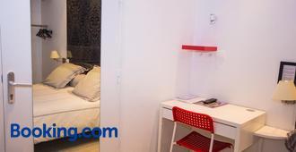オテル サン ジャン - トゥール - 寝室