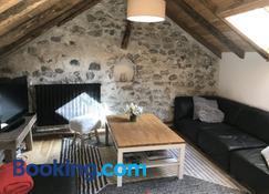 Appartement Duplex avec Jardin Attenant - Briançon - Phòng khách